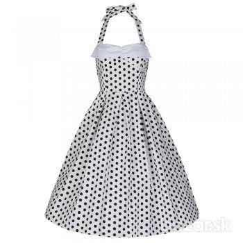 Saty  nielen na stuzkovu, retro, pinup, vintage dress