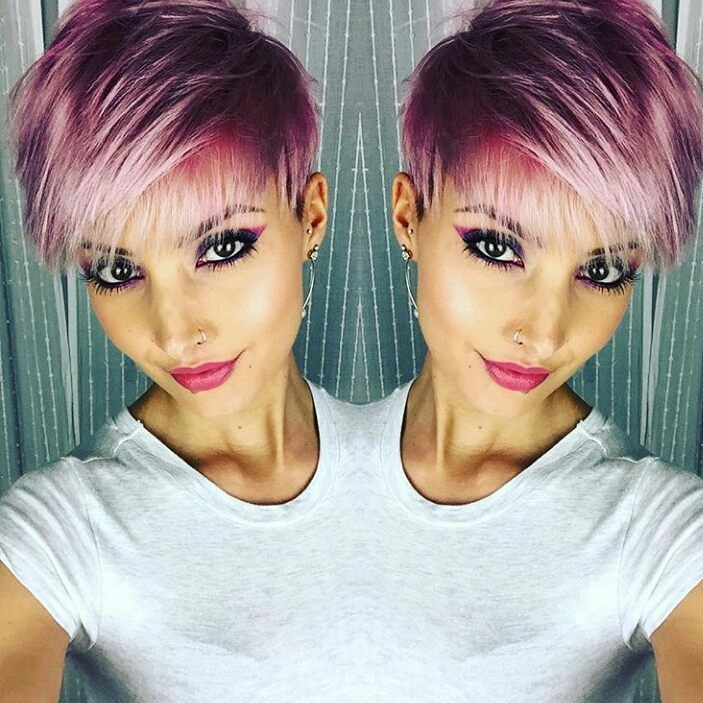 Die 11 Tollsten Farben In Kurzen Haaren Für Frauen Mit Mut Neue