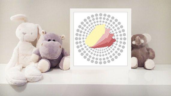 Baby bottle printable nursery art instant download by MonsterTots