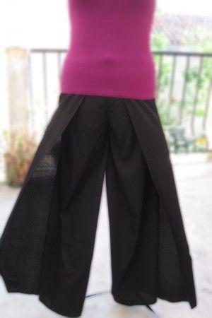 Pantalon portefeuille couture facile