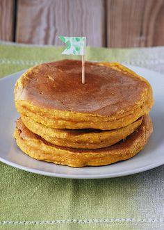 Tortitas de calabaza - El otoño es ideal para disfrutar de Madrid - albahaca y canela