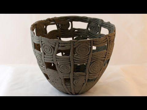 Geflochtenes Keramik Windlicht - YouTube