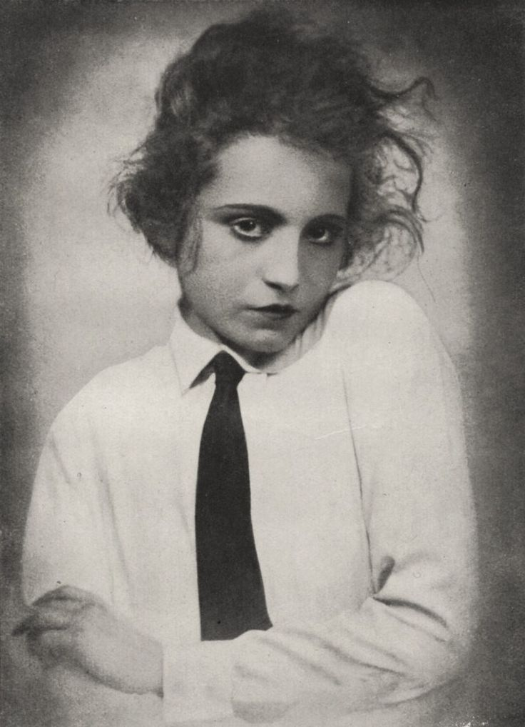 "Elizabeth Bergner as ""Fräulein Julie"", 1922"