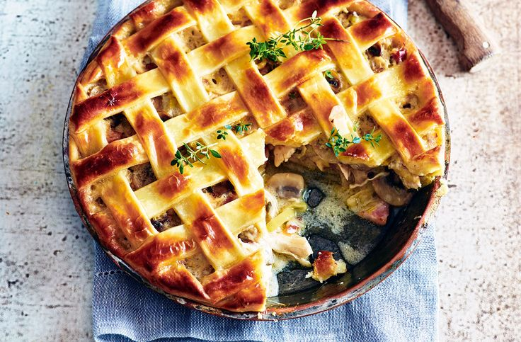 Give this easy chicken pie a try – it's packed with pancetta & is an ideal family dinner. Find lots more dinner ideas & chicken recipes at Tesco Real Food.