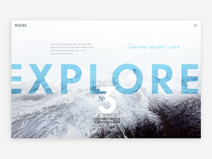 10 Expert Tips For Designing With a Blurred Background [Case Studies] – Design School