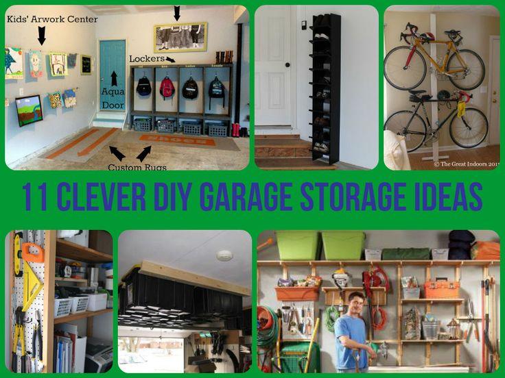 11 Clever #Garage Storage Ideas