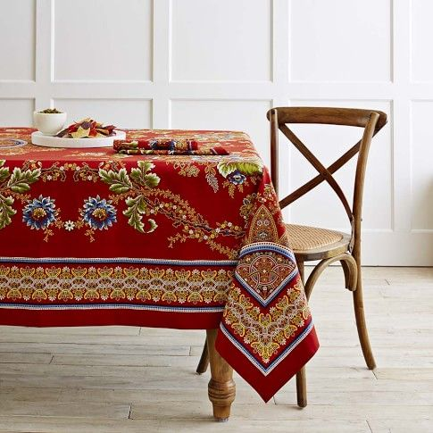 Spanish Floral Tablecloth | Tapa the World | Pinterest ...