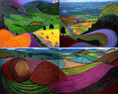 david hockney paintings | who david hockney what paintings prints photography photocollage ipad ...
