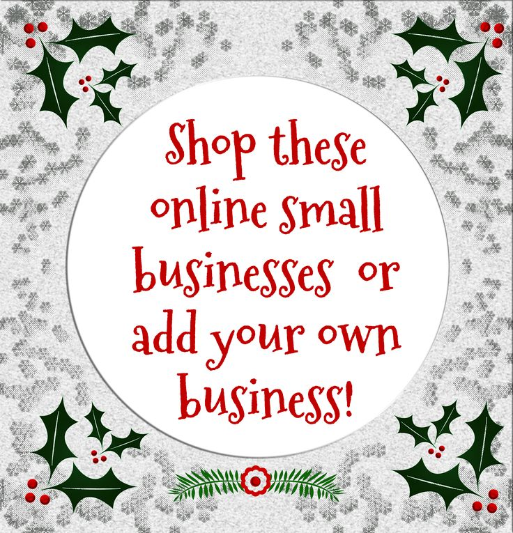 Shop these online small businesses for Small Business Saturday.  Multi-Level Marketers, Direct Sales, eBay, and Etsy sellers are all welcome to link up!