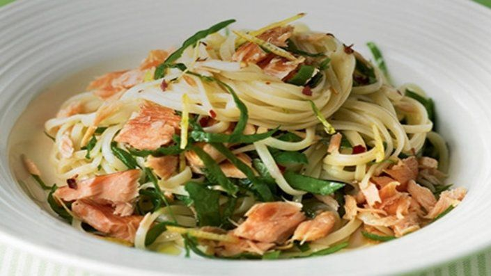 Photo of Salmon Linguine
