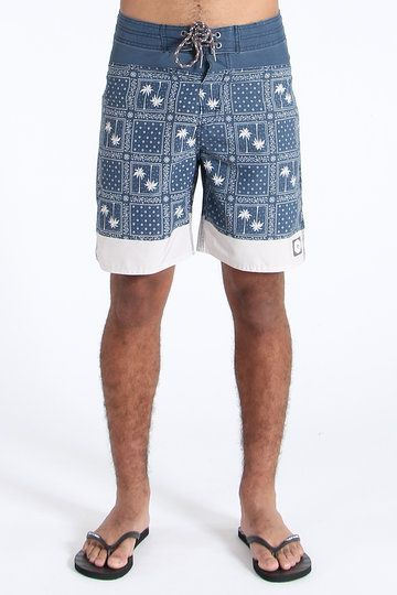"""We know you want in on a slice of the Ripcurl pie, so get your steaze guzzling chops around the Mirage Craft Temples Boardshorts. As well as an epic palm tree print, these 19"""" beautes offer a lightweight fabric, self tie waistband and extreme flexibility."""