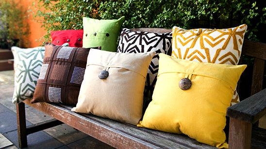 Majestic Cushions. From $12.95.