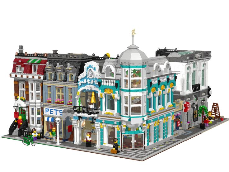 lego city moc instructions