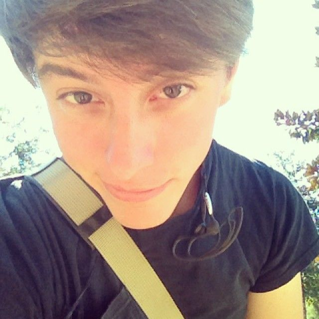 Thomas Sanders...one of the funniest viners! I love his stuff because it's good, genuine, clean humor.