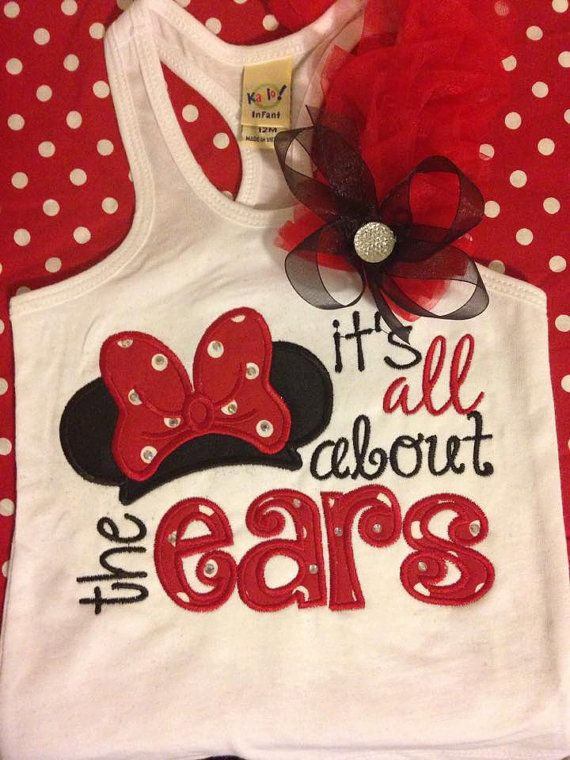 Embroidery design 6x10 It's all about the ears by SoCuteAppliques