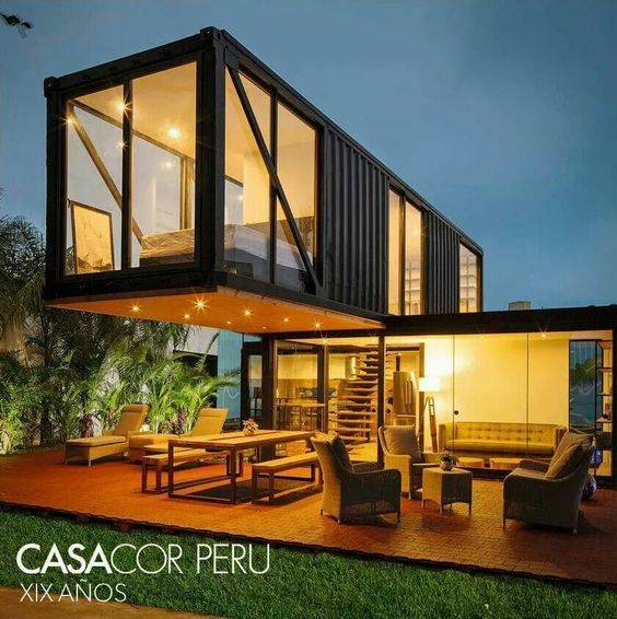 24 Epic Shipping Container Houses No Lack Of Luxury: Mejores 8 Imágenes De Containers En Pinterest