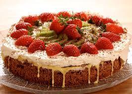Ritz kake   Kaken:   6 eggehviter  2 kopper sukker  32 stk ritzkjeks  1 box valnøtter   Gul krem:   6 eggeplommer  190 g sukker  1 ts vanil...