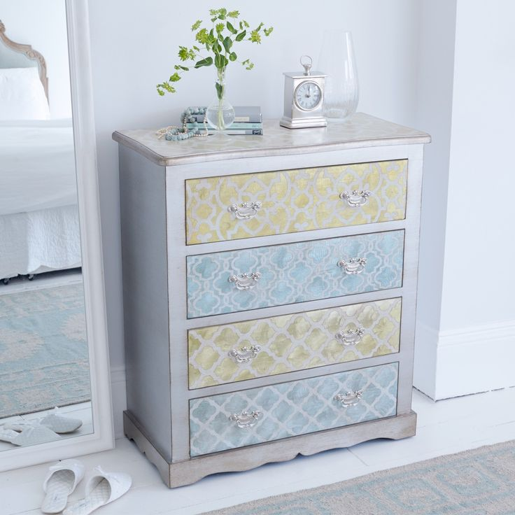 Shangri La Curved Chest Of Drawers