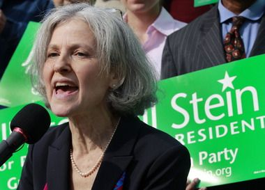 Green Party presidential candidate Jill Stein arrested in protest outside presidential debate at Hofstra University