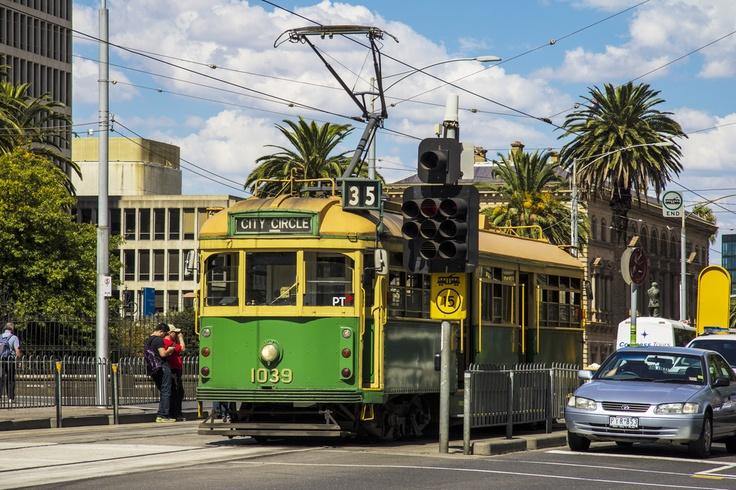 City Circle Tram, Melbourn, Australia