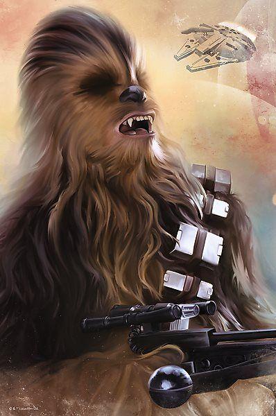 Nano puzzle TREFL 362 dílků - Star Wars: Chewie