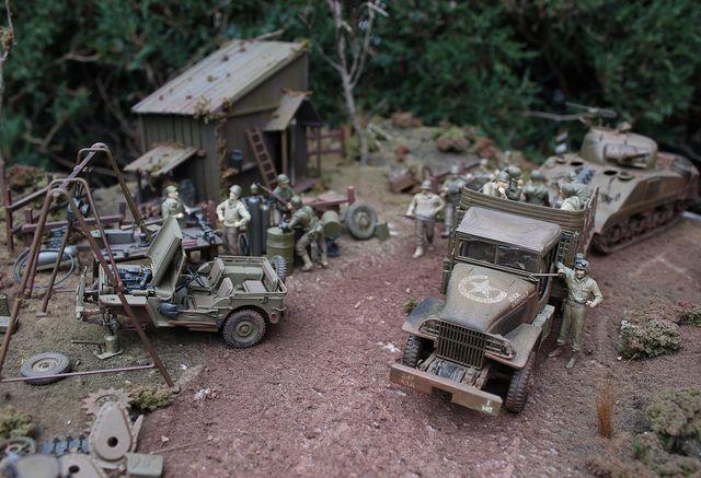 military dioramas | military dioramas 6 | Flickr - Photo Sharing!
