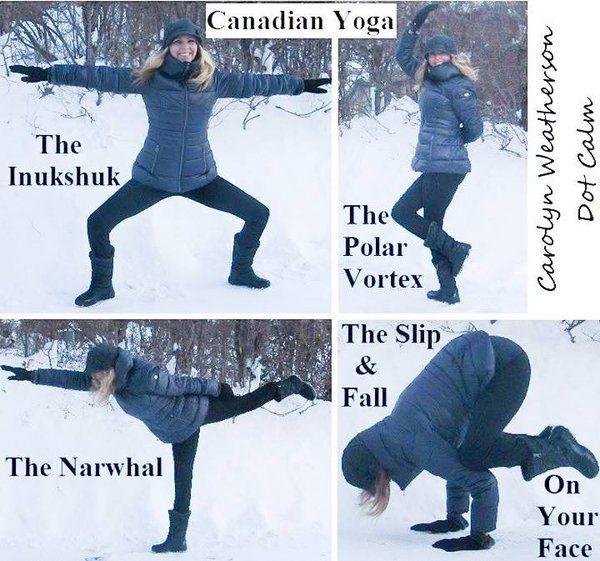 Canadian Yoga | Haha!