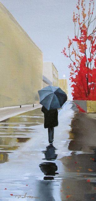 'Rainy Morning' - Tina Palmer Studios, Inc.