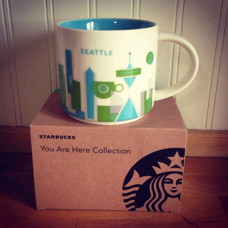 seattle you are here starbucks mug i 39 ve got them starbucks mugs pinterest starbucks. Black Bedroom Furniture Sets. Home Design Ideas