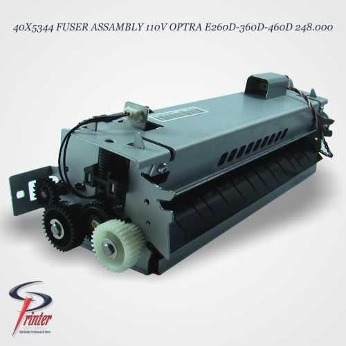 40X5344 FUSER ASSAMBLY 110V OPTRA E260D-360D-460D 248.000
