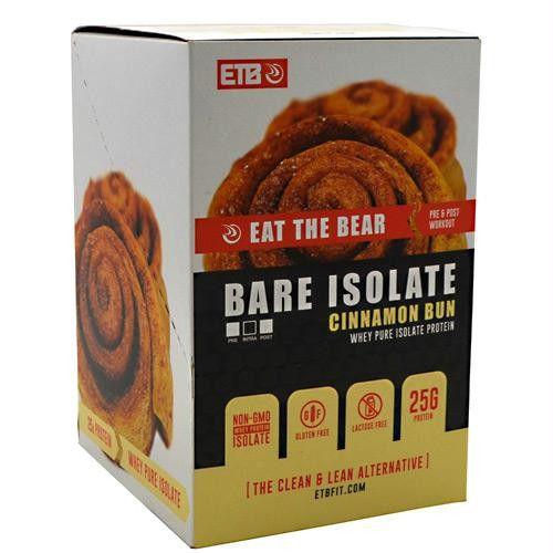 Eat The Bear Whey Pure Isolate Protein Cinnamon Bun