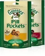 GREENIES® PILL POCKETS® Treats for Dogs - Visit dvm360.com/FearFree to learn more about Fear-Free veterinary visits