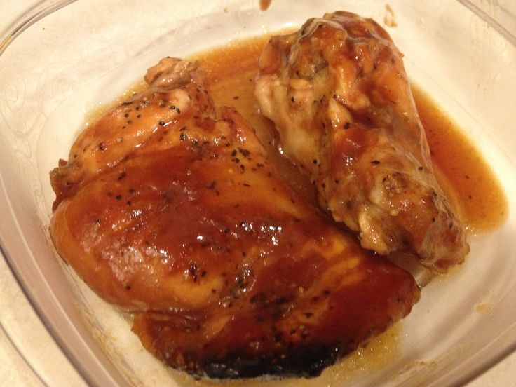 how to make barbecue chicken thighs in the oven