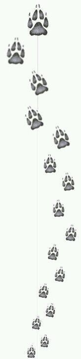 I really want a wolf pawprint tattoo, I got a leopard print, just a single one