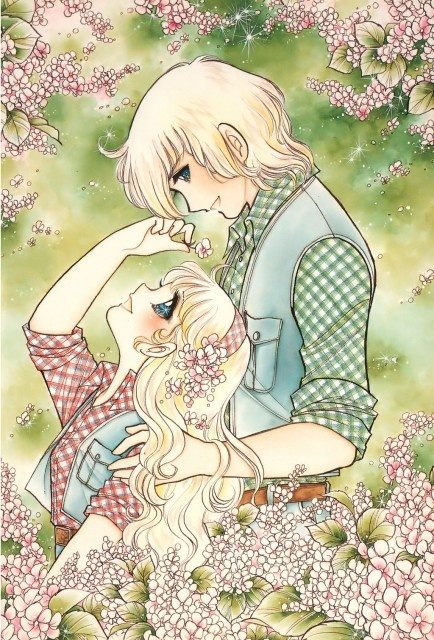 "Art from ""Mayme Angel"" series by manga artist Yumiko Igarashi."