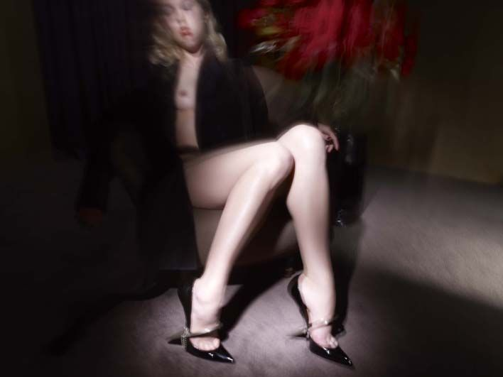 Fetish David Lynch Photographies  Christian Louboutin Souliers