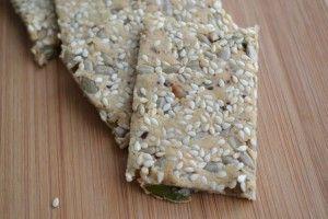 Amandel Lijnzaad Crackers - Blij Suikervrij