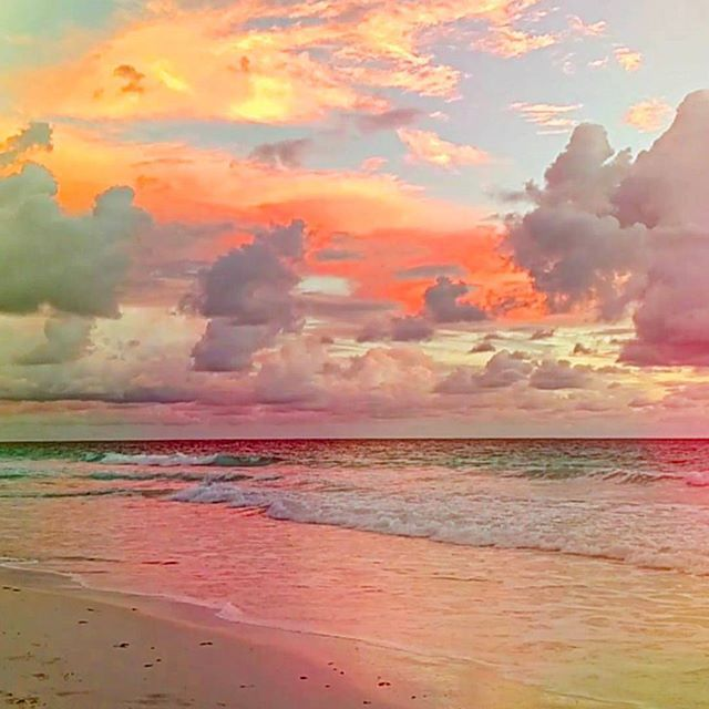 Pink Sands Or An Impressionist Painting Join Us For Sunset