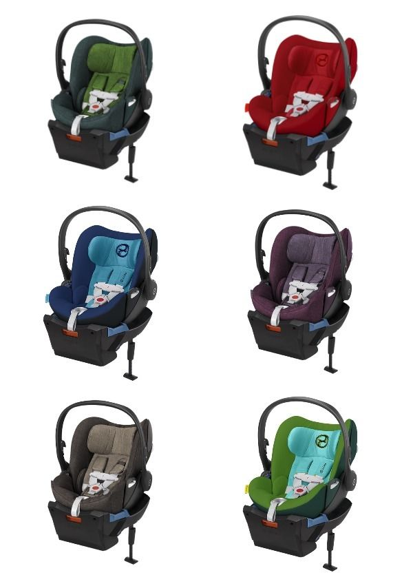 5980c24e751a5 The fully reclining Cybex Cloud Q car seat is a dream.