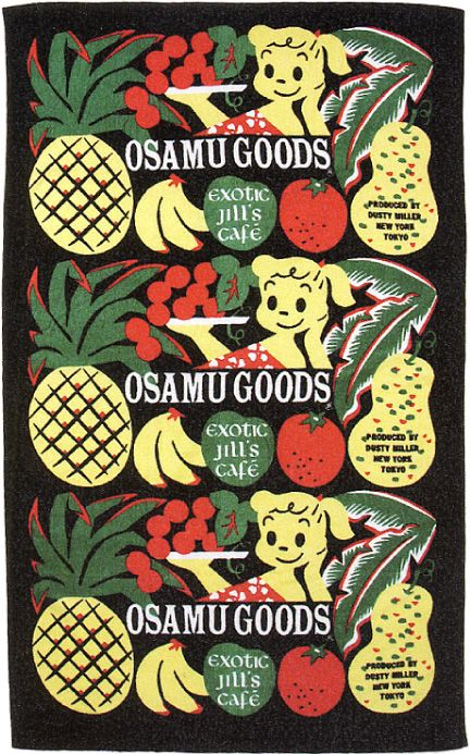 BEACH TOWEL/OSAMUGOODS