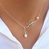 Bonlting Fashion Jewelry Pendant Chain Pearl Choker Chunky Statement Bib Charm Necklace  by Bonlting $1.23