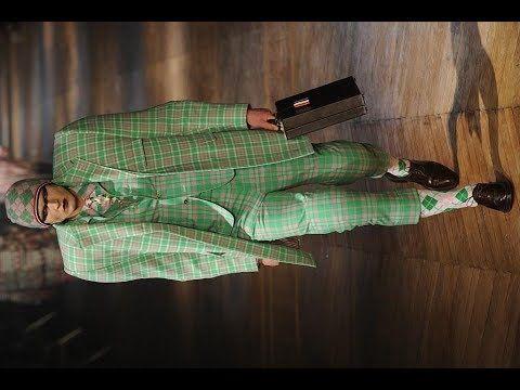 Необычная мужская мода