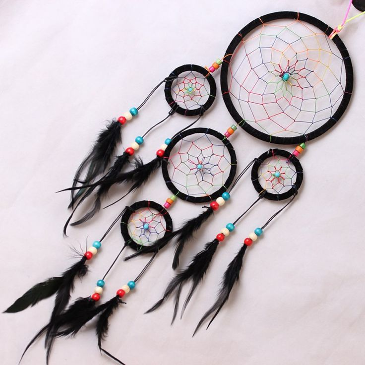 Dreamcatchers Nylon Feather Native American Indian Kids Room Decor Crafts Decal