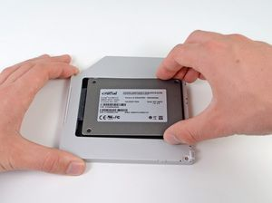 "Installing MacBook Pro 13"" Unibody Early 2011 Dual Hard Drive - iFixit"
