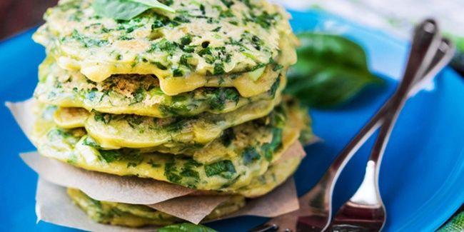 Resep Sehat: Pancake Oatmeal Dan Sayuran Rendah Kalori