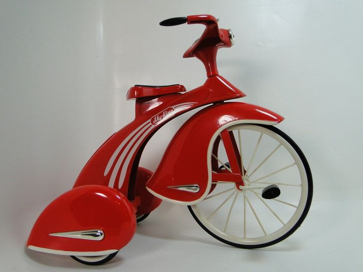 1930s Pedal Car Rare Tricycle Vintage Classic Precision Red Midget Show Model | eBay