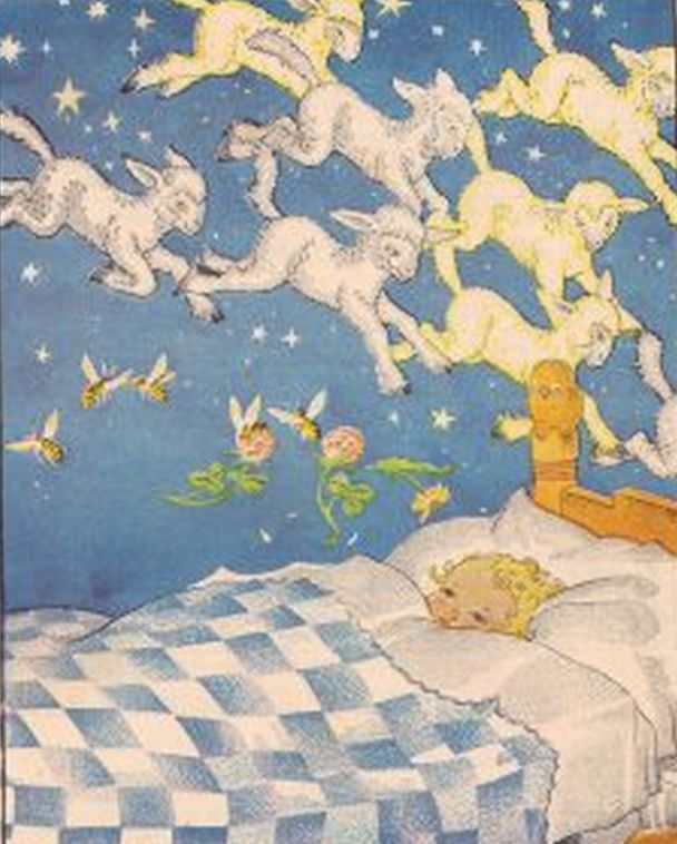:: Sweet Illustrated Storytime :: Maud and Miska Petersham :: Lullaby, 1936
