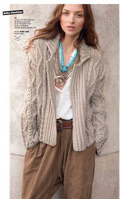 Phildar pattern JUST LOVE THIS LOOK!!!!