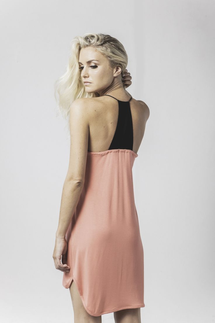 cassie mesh v sleep slip in coral available now @ marceau.com.au