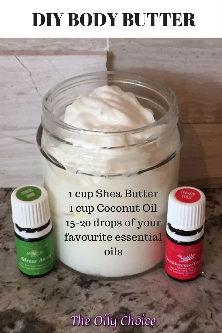 1 cup of raw Shea Butter, 1 cup of cold-pressed Co…